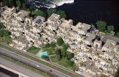Brutalist buildings: Habitat 67, Montreal by Moshe Safdie.