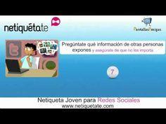 Netiqueta joven para redes sociales (vídeo consejos) - YouTube