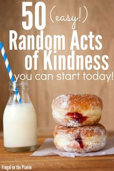Want to be more giving and selfless of your time and energy? Here is a FREE checklist for 50 (easy!) random acts of kindness you can start today! Kindness For Kids, Kindness Ideas, Acts Of Kindness, Human Kindness, Kindness Rocks, Kindness Activities, Kid Activities, Serving Others, Service Projects