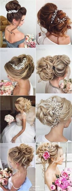 Wedding Hairstyles : Illustration Description Elstile Long Wedding Hairstyle Inspiration / www.deerpearlflow… -Read More – Wedding Hairstyles For Long Hair, Bride Hairstyles, Bridesmaid Hair, Prom Hair, Bridal Makeup, Bridal Hair, Bombshell Beauty, Wedding Hair Inspiration, Trending Haircuts
