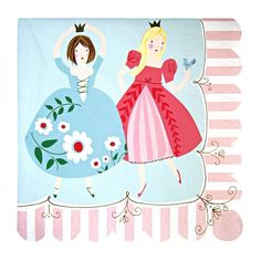 Meri Meri Servietten Prinzessinnengeburtstag Geburtstag Prinzessin - Bonuspunkte sammeln, Kauf auf Rechnung, DHL Blitzlieferung!