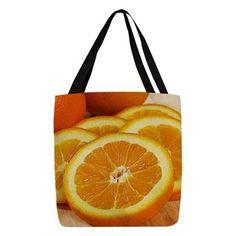 Juicy Polyester Tote Bag
