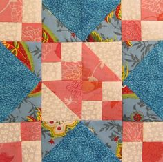 star quilt pattern Star Quilt Block of the Month #18