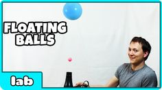 Science Experiments That You Can Do At Home -  Floating Balls Science Ex...