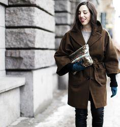Sania Claus Demina in Dagmar coat