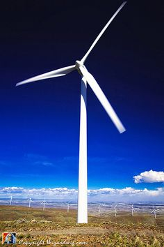 Build-it-yourself wind powered generator guidelines. http://www.diywindturbine.us/ Wind Turbine - Wild Horse Wind Farm, Kittitas Washington