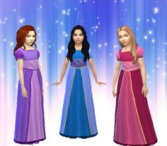 Sims 4 CC's - The Best: Girls Dress by My Stuff