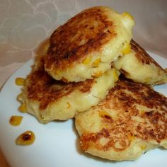 Corn and Cheese Griddle Cakes (Arepas) - 2 Ww Points Recipe