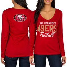 San Francisco 49ers Toddler Team Logo Long Sleeve T-Shirt - Scarlet