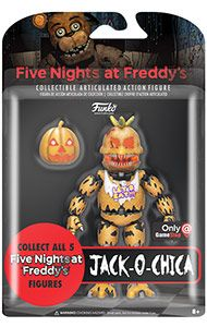Boxshot: Five Nights at Freddy's Jack-O-Chica Action Figure - Only at GameStop by Funko
