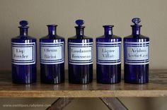 #Bottles #Poison #Victorian #Medicine