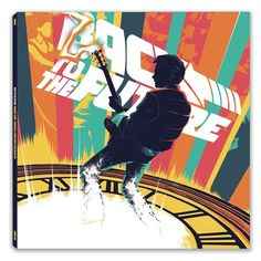 """""""My poster for #BackToTheFuture is now the artwork for a brand new reissue of the score being released by @mondotees on vinyl next Wednesday 21/10/15 (which fans will know is the date Marty and Doc travel to in part II. Big thanks to @phantomcitycreative who did a top job on the design and layout on the sleeves #illustration #bttf #martymcfly #docbrown #delorean #movies #vinyl #score #soundtrack"""" by matttaylordraws"""