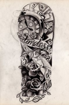 Timeless Sleeve Sketch by *WillemXSM on deviantART