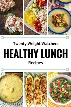 Twenty Weight Watchers Recipes for Lunch - Slender Kitchen