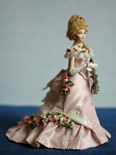 The Creative Doll: Rising to the Challenge. Doll by the late Doreen Sinnett, dressed by Kathi Mendenhall