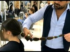 (86) Hair cut and Color Transformation by Mounir Salon - YouTube