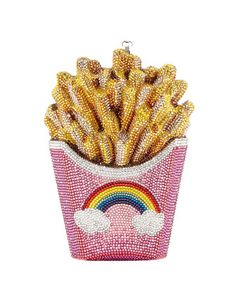 French+Fries+Rainbow+Clutch+Bag+by+Judith+Leiber+Couture+at+Neiman+Marcus.