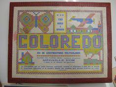 Coloredo ou l'art de faire du Pixel avec des allumettes