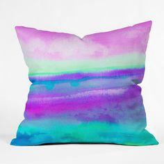 16 x 16 Deny Designs Bree Madden Redwoods Outdoor Throw Pillow