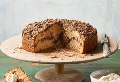 This cake is a perfect companion to your morning coffee.