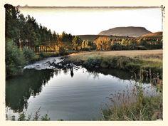 Setting sun on the Mooi river, Kwazulu-Natal, South Africa Kwazulu Natal, Fly Fishing, Places Ive Been, South Africa, River, Sunset, Outdoor, Outdoors, Fly Tying