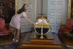 Princess Madeleine with Princess Leonore