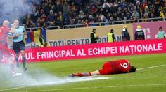Aufregung bei WM-Quali in Rumänien: Böllerwurf knockt Lewandowski aus