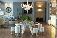 DOM Edizioni operates in the yacht, home and luxury hotel furniture sector, offering collections and products that are made in Italy Hotel Concept, Nardo, Inner World, Dining Table, Table Decorations, Boutique, Interior Design, Luxury, Furniture