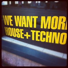 #House #Techno !!!!
