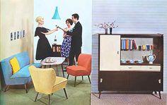 Möbeldesign 50er