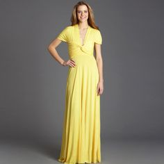 Long Transformer Dress Yellow, $59, now featured on Fab.