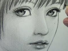 """How to Draw a """"Realistic"""" Manga Face [pt. 1: Line Placement]"""