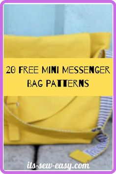 Messenger bags are unisex and appealing to all ages. Whether you like them large or small, plain or bold-colored, in single or multiple pockets, their diversity is what makes them unique. Here are a few patterns you can try out for your new messenger bag. #bagpatterns #messengerbagpattern #sewingpatterns #freepatterns Messenger Bag Patterns, Mini Messenger Bag, Creative Outlet, Kids Bags, Bold Colors, Gifts For Friends, Sewing Patterns, Unisex, Diversity
