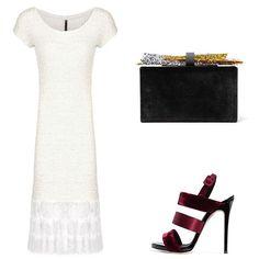 HOT news🔥  Новинка в бутике UONA - длинное молочное платье - смотрите в сторис😉  Эти котельные платья созданы для особого выхода! Свидание, вечеринка, любое важное мероприятие❤️. #UONA_look на заметку:  🔹Платье UONA #артикулпл52  Цена: 12900₽, размер S (другие размеры - под заказ).  Образ дополняют:  🔹клатч #edieparker  🔹босоножки #giuseppezanotti