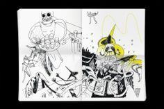 Bureau Mirko Borsche – Super Paper No. 43-44, illustration: Malin Schoenberg, Aleksandar Todorovic