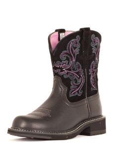 Women's Fatbaby II Boot - Black Deertan  Hey, my toes would actually FIT in these! LOL