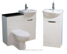Small 34 Bathroom Vanities Small Spaces On Compact Bathroom Sinks Armychaplainswife Modern Small Bathroom Sink Compact Bathroom, Small Bathroom Vanities, Tiny Bathrooms, Bathroom Ideas, Bathroom Mirrors, Bathroom Pink, Narrow Bathroom, Bathroom Designs, Bathroom Organization