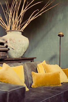 Interior Styling, Interior Decorating, Interior Design, Belgian Style, Transitional Decor, Grey And Gold, Mellow Yellow, Rustic Interiors, House Colors