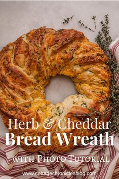 Easy Bread Recipe. Instructions and tutorial for this Herb