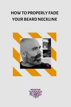 Shaving your beard can be a hassle sometimes. This is especially true if you have thick and scraggly hair that grows down your neck. We'll help you how to properly fade your beard neckline so that your grooming routine can be hassle-free! #beardtrimming Beard Trimming Guide, Beard Trimming Styles, Hair And Beard Styles, Dog Grooming Clippers, Beard Grooming, Trim Beard Neckline, How To Fade, Beard Look