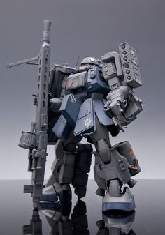 "MS-06 Zaku II ""Heavy Weapon Type w/Sniper Rifle"