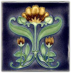 Art Nouveau Tile …