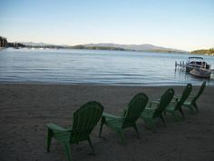 There's nothing like a getaway to the Lakes Region of New Hampshire with a stay at Misty Harbor & Barefoot Beach Resort. Located on Lake Winnipesaukee, there's plenty of fun in store! BBQ with friends then hit the basketball court for a pickup game, enjoy the sun while walking along the water or taking a hike. Whatever you choose, it's sure to be a great stay. - ResortsandLodges.com #Travel #NewHampshire