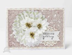 Seasons greetings card | #Couturecreationsau- Anita Bownds