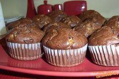 Bezkonkurenčne najlepšie čokoládové muffiny Ale, Muffins, Food And Drink, Baking, Breakfast, Sweet, Recipes, Nova, Morning Coffee