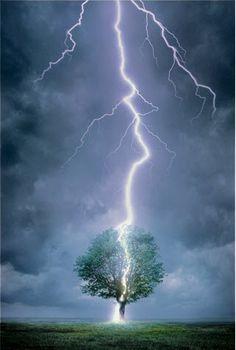 when lightning strikes...