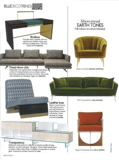 Press release ELLE DECOR UAE Oct.2016on NOTORIOUS COLLECTION #notoriouscollection #marionisrl #luxuryliving #furniture