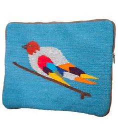 Pajarito Wool Bird Laptop Case