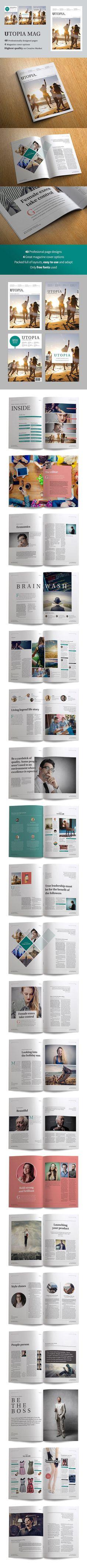 Utopia magazine - Magazines - 1
