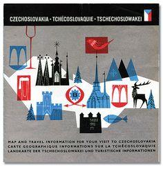 czechoslovakia map